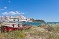 Portugal - Ferragudo Royalty Free Stock Photo