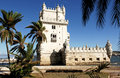 Portugal, Lisbon: Tower of Belem Stock Photo