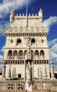 Portugal, Lisbon:The tower of Belem Royalty Free Stock Photo