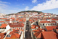 Portugal. Panorama of Lisbon Stock Photography