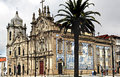 Portugal, Porto: Carmo church Stock Images