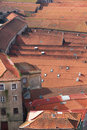 Portugal. Porto city. Roofs Stock Photo