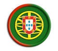Portugal shield Stock Photo