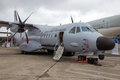 Portuguese Air Force EADS CASA C-295 cargo plane Royalty Free Stock Photo