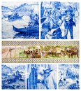 Portuguese art tiles Stock Photography