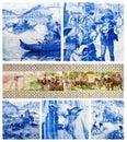 Portuguese art tiles Stock Photography