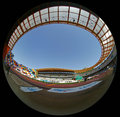 Portuguese Athletics Championship, stadium view Stock Images