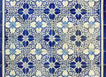 Portuguese azulejos tiles traditional old Royalty Free Stock Image