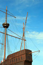 Portuguese Galleon Stock Photography