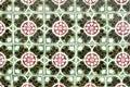Portuguese glazed tiles 039 Royalty Free Stock Photos