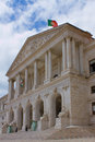 Portuguese parliament in lisbon the grand building located Stock Photography