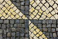 Portuguese pavement Royalty Free Stock Photo