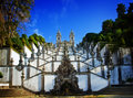 Portuguese Shrine Good Jesus of the Mountain Royalty Free Stock Photo