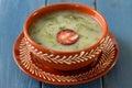 Portuguese soup caldo verde Royalty Free Stock Photo