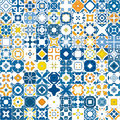 Portuguese tiles Royalty Free Stock Images