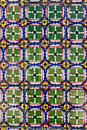 Portuguese tiles azulejos traditional in porto Royalty Free Stock Images