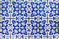 Portuguese tiles azulejos traditional in porto Stock Photos