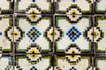 Portuguese tiles azulejos traditional in porto Royalty Free Stock Photos