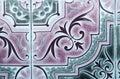 Portuguese tiles Royalty Free Stock Photo