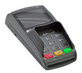 Pos terminal credit card for payment pin pad Stock Images