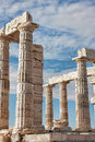Poseidon's Temple Royalty Free Stock Image
