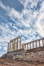 Poseidon's Temple Stock Photography