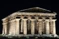 Poseidon Temple, Paestum Royalty Free Stock Photos