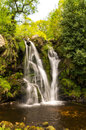 Posforth gill waterfall in the yorkshire dales united kingdom Royalty Free Stock Photography