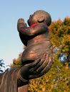 Posąg buddy szczególne Obraz Stock