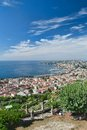 Posillipo and Chiaia, Naples, Italy Stock Images