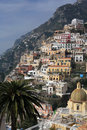 Positano on the Amalfi coast Royalty Free Stock Image