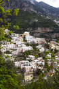 Positano italy in amalfi coast Royalty Free Stock Images