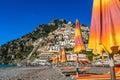 Positano Italy beach Royalty Free Stock Photo