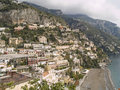 Positano,touristic city located south of Italy Royalty Free Stock Photo