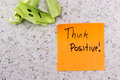 Positive attitude Royalty Free Stock Photo