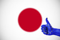 Positive attitude of the European Union for Japan Royalty Free Stock Photo