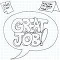 Positive Job Reinforcement Messages