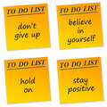 Positive messages Royalty Free Stock Image