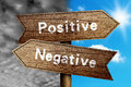 Positive Or Negative Royalty Free Stock Photo