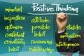 Positive thinking Royalty Free Stock Photo