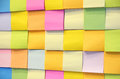Post it Stock Afbeeldingen