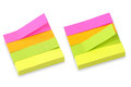 Post it block Royalty Free Stock Photos