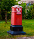 Post box old in thailand Stock Image