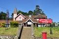 Post office building in the city of Nuwara Eliya Royalty Free Stock Photo