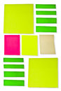 Post it paper my beautiful bright sunlight Stock Photography