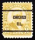 Postage circa of usa united states america a stamp printed in the united states america cents value shows ulysses simpson grant th Royalty Free Stock Photos