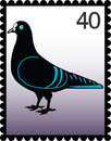 Postage stamp 40 Stock Photo
