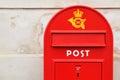 Postal box Royalty Free Stock Photo