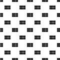 Postal parcel pattern vector