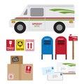 Postal Service Royalty Free Stock Photo